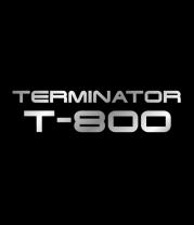 Женская футболка с длинным рукавом Терминатор Т-800