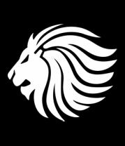 Мужская майка Лев - царь зверей