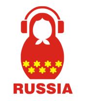 Футболка поло мужская Russia dj