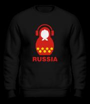 Толстовка без капюшона Russia dj