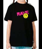 Детская футболка  Rave
