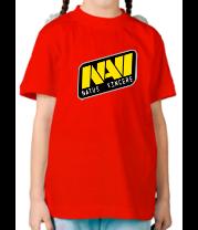 Детская футболка  NAVI Natus vincere Dota 2 team logo