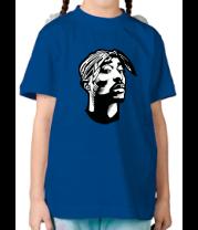 Детская футболка  Тупак Шакур