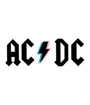 Женская футболка с длинным рукавом AC/DC
