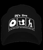 Шапка Dj's live