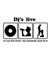 Толстовка Dj's live