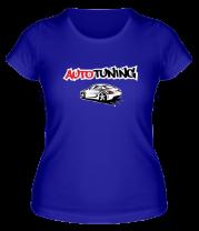 Женская футболка  Autotuning