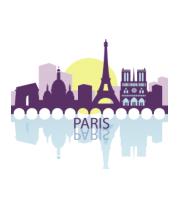 Детская футболка  Париж