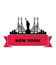 Детская футболка  Нью-Йорк