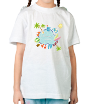 Детская футболка  Summer holiday