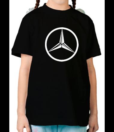 Детская футболка  Mercedes