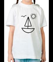 Детская футболка  Настроение лето