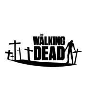 Женская майка борцовка The Walking Dead