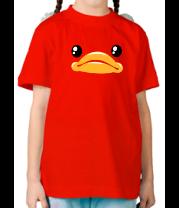 Детская футболка  Утка