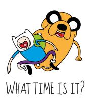 Коврик для мыши What time is it?