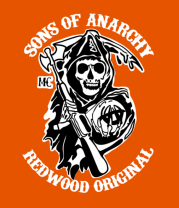 Мужская футболка   Sons of Anarchy