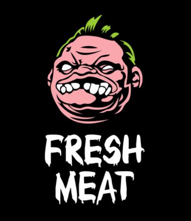 Мужская футболка  Dota - Pudge Fresh Meat