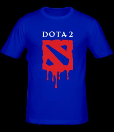 Мужская футболка  Blooded Dota 2