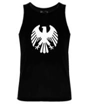 Мужская майка Немецкий средневековый рисунок орла