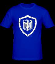 Мужская футболка  Гербовый орел (свет)