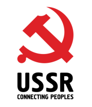 Женская майка борцовка USSR - Connecting Peoples