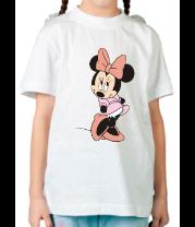Детская футболка  Мини Маус