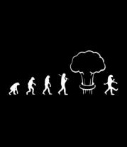 Мужская футболка  Эволюция после взрыва
