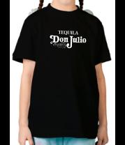 Детская футболка  Tequila don julio