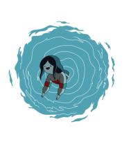 Толстовка Marceline in portal