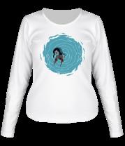 Женская футболка с длинным рукавом Marceline in portal