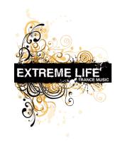 Футболка поло мужская Extreme life ( trance music )