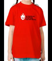 Детская футболка  Не говори что делать