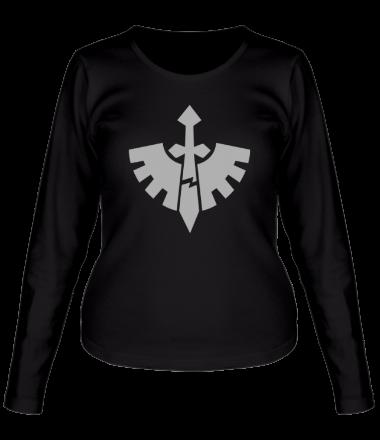 Женская футболка с длинным рукавом Тёмные Ангелы (Dark Angels)