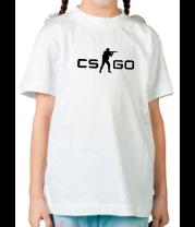 Детская футболка  Counter-Strike: Global Offensive logo