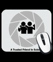Коврик для мыши A Trusted Friend in Science