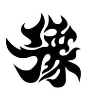Кружка Японский иероглиф - Счастливчик