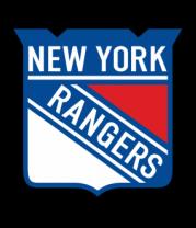 Мужская футболка с длинным рукавом HC New York Rangers Shield