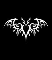 Женская майка борцовка Бэтмен - татуировка