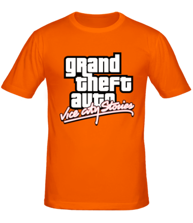 Мужская футболка  GTA Vice City Stories