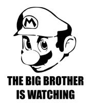 Коврик для мыши Mario Big Brother
