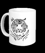 Кружка Величественный тигр