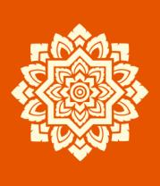 Мужская футболка  Орнамент мозаика (свет)