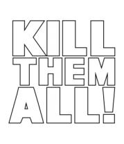 Бейсболка Kill the all