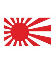 Детская футболка  Японский флаг