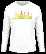 Мужская футболка с длинным рукавом Эквалайзер