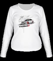 Женская футболка с длинным рукавом Toyota Mark 2 Tourer V