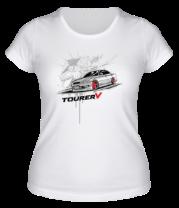 Женская футболка  Toyota Mark 2 Tourer V