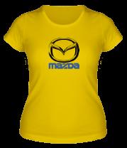 Женская футболка  Mazda