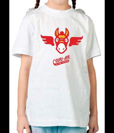 Детская футболка  Up the courier