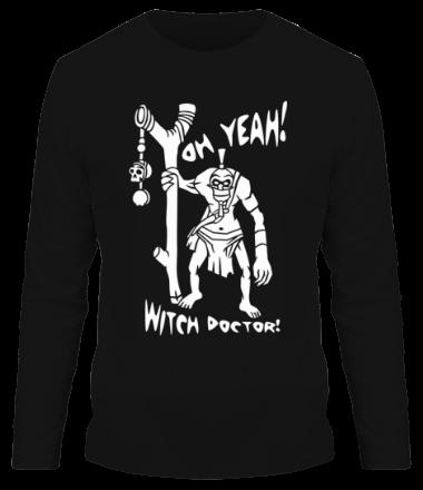 Мужская футболка с длинным рукавом Знахарь